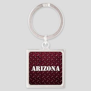 Arizona Diamond Plate Keychains