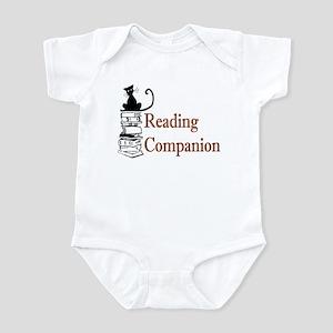 Reading Companion (cat on boo Infant Bodysuit