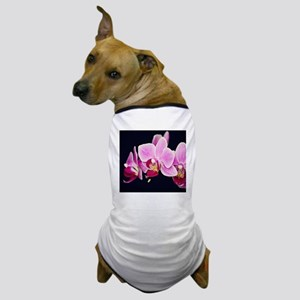 Pink Orchids Dog T-Shirt