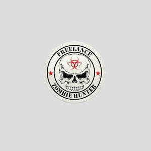 Freelance Zombie Hunter Mini Button