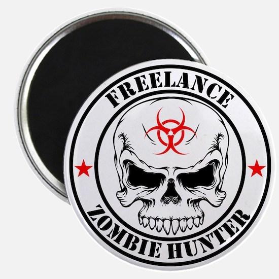 Freelance Zombie Hunter Magnet