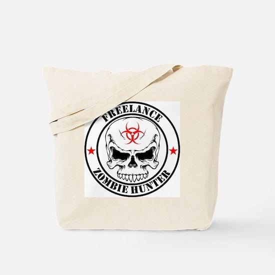 Freelance Zombie Hunter Tote Bag