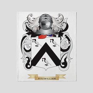 Fitzwilliam Coat of Arms Throw Blanket