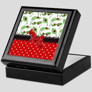 Ladybug Connection Keepsake Box