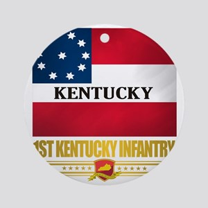 1st Kentucky Infantry Round Ornament
