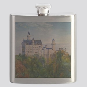 neuschwanstein square Flask