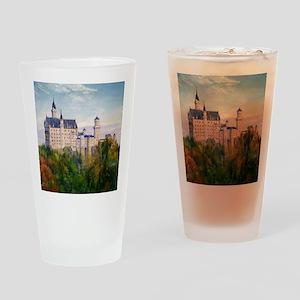 neuschwanstein square Drinking Glass