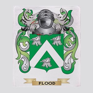 Flood Coat of Arms Throw Blanket