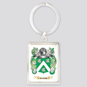 Flood Coat of Arms Portrait Keychain