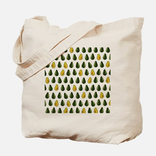 Avocado Pattern Tote Bag