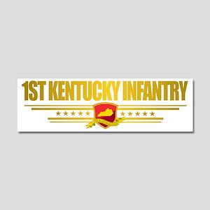 1st Kentucky Infantry Car Magnet 10 x 3