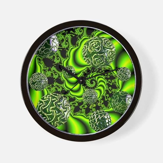 Irish Whirl-9900x9900 Wall Clock
