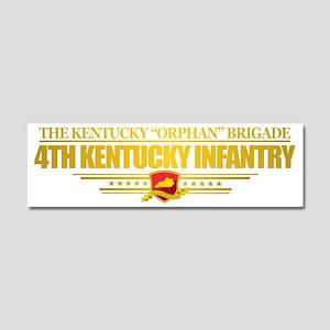 4th Kentucky Infantry Car Magnet 10 x 3