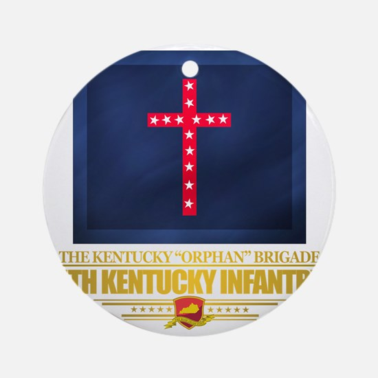 4th Kentucky Infantry Regiment Round Ornament