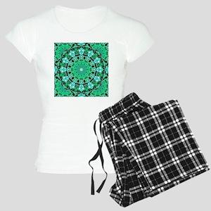 Emerald Crystals-9900x9900 Women's Light Pajamas