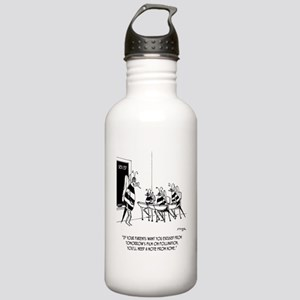 Bees in Sex Ed Stainless Water Bottle 1.0L