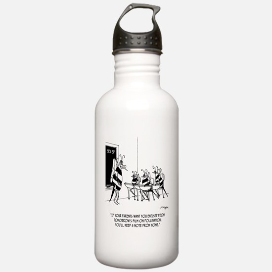 Bees in Sex Ed Water Bottle