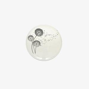 Dandelion Wishes Mini Button