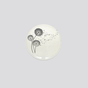 Dandelion Wishes Mini Button