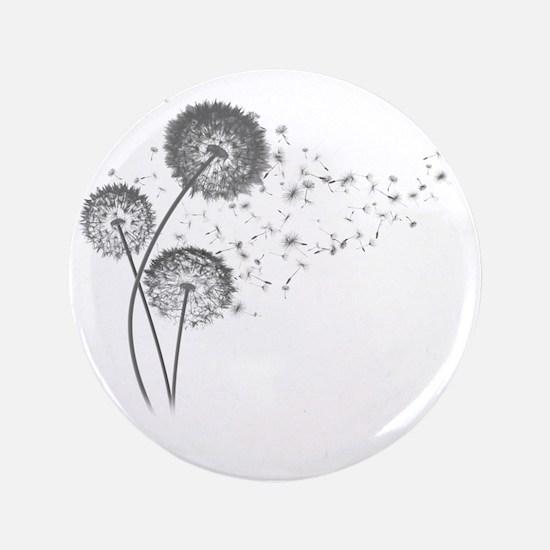 """Dandelion Wishes 3.5"""" Button"""
