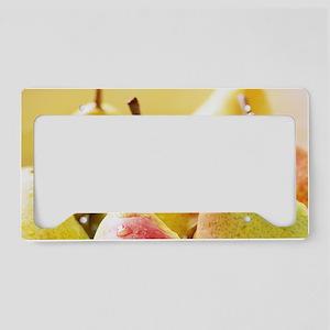 Pears License Plate Holder
