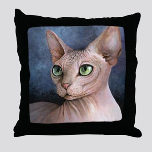 Cat 578 Throw Pillow