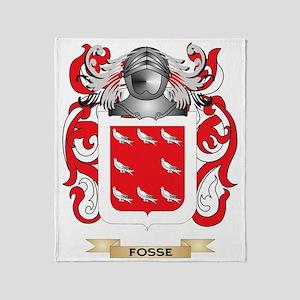 Fosse Coat of Arms Throw Blanket