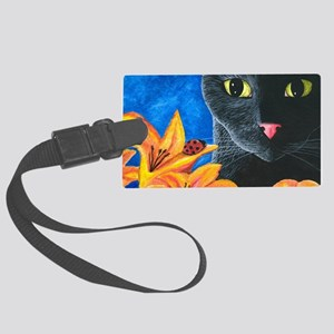 Cat 551 Large Luggage Tag
