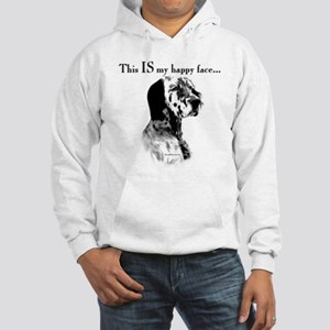 Setter Happy Face Hooded Sweatshirt