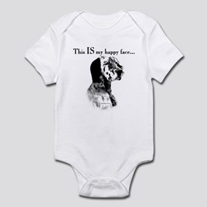 Setter Happy Face Infant Bodysuit