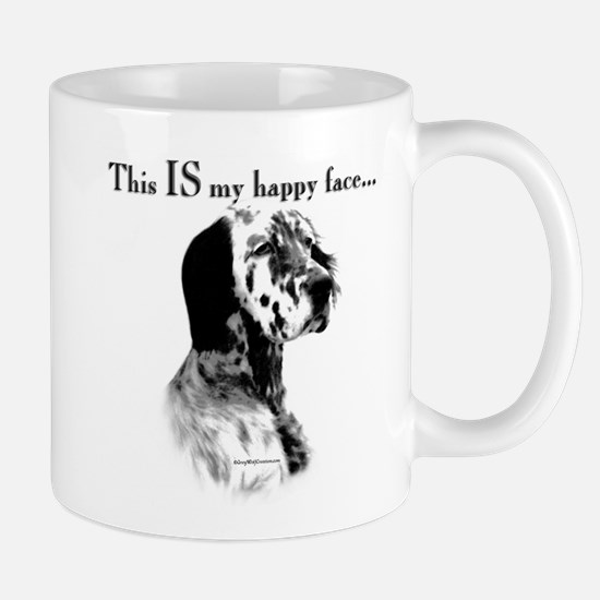 Setter Happy Face Mug