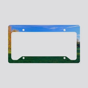 Three Seasons License Plate Holder