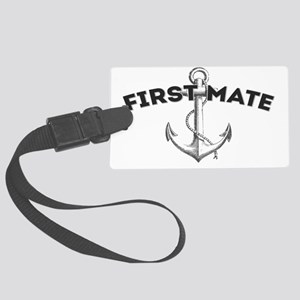 First Mate copy Large Luggage Tag