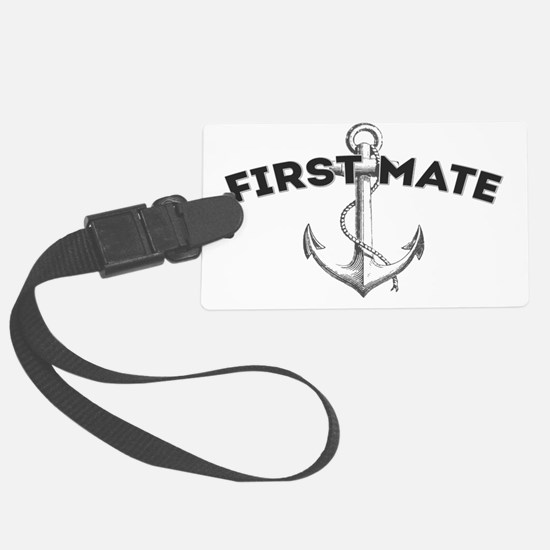First Mate copy Luggage Tag