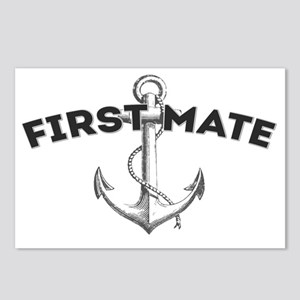 First Mate copy Postcards (Package of 8)