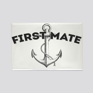 First Mate copy Rectangle Magnet