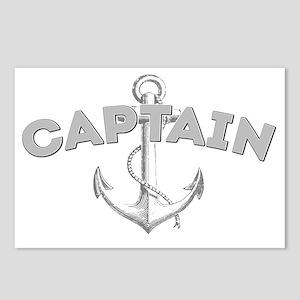 Captain dark Postcards (Package of 8)