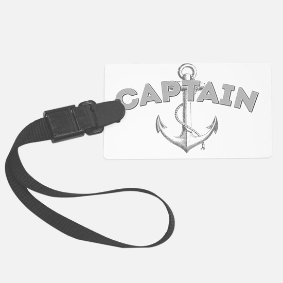 Captain dark Luggage Tag