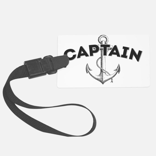 Captain copy Luggage Tag