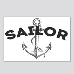 Sailor copy Postcards (Package of 8)