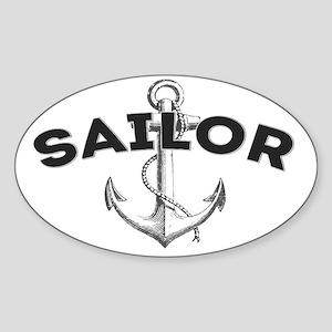 Sailor copy Sticker (Oval)