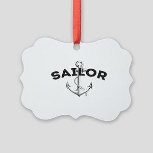 Sailor copy Picture Ornament