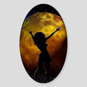 moondance Sticker (Oval)