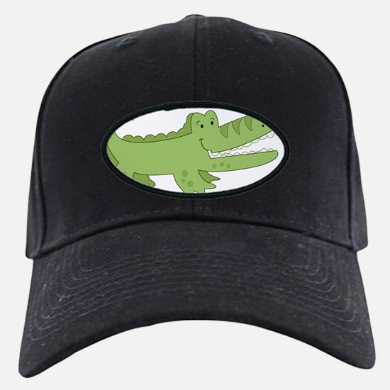 Cutest Green Alligator Baseball Hat