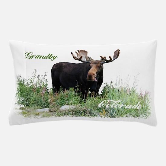 Grandby CO Moose Pillow Case