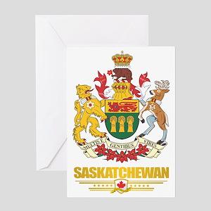 Saskatchewan Coat of Arms Greeting Card