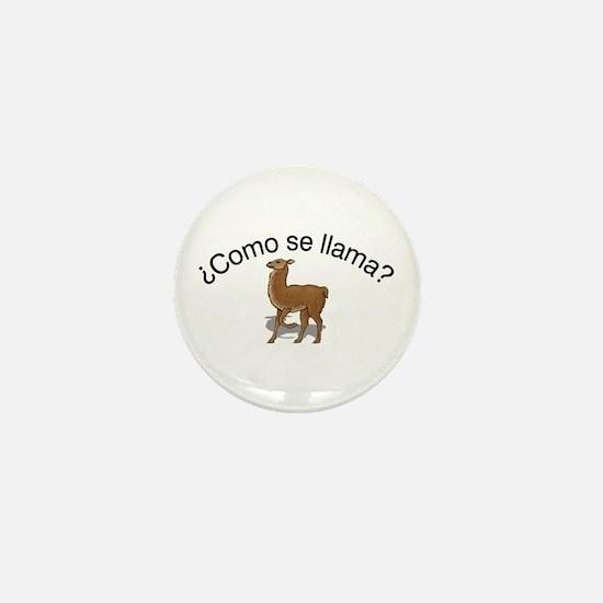 Llama Mini Button