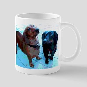Dachshund Best Buds Mug