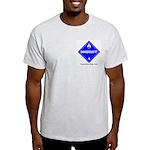 Wet Danger Ash Grey T-Shirt
