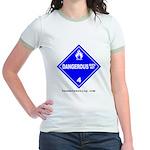 Wet Danger Women's Ringer T-Shirt